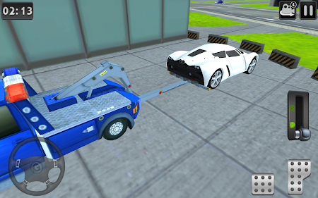 3D Tow Truck Parking Simulator 2.1 screenshot 132359