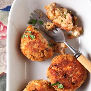 Salmon Croquettes.