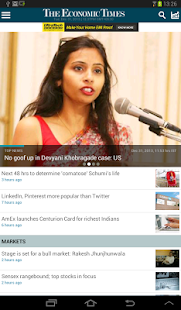 The Economic Times - screenshot thumbnail