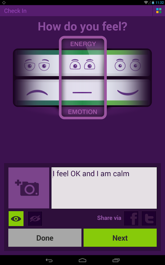 In Flow - Mood Diary- screenshot