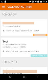Events Notifier for Calendar- screenshot thumbnail