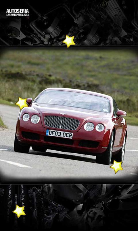 Bentley Models Live Wallpaper - screenshot