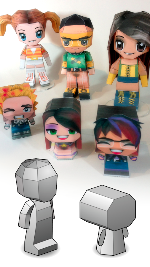 PaperChibi Lite 3D Papercraft- screenshot