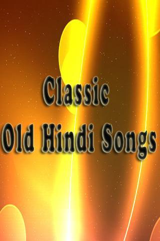 Classic Old Hindi Songs