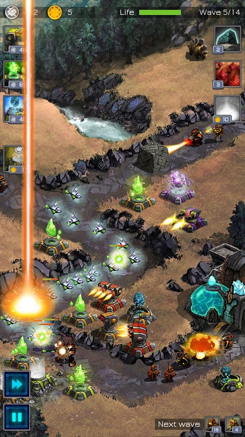 ancient planet tower defense android apps on google play