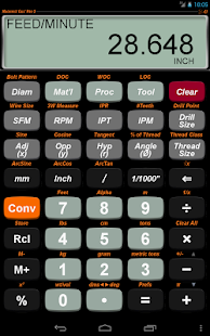 Machinist Calc Pro 2- screenshot thumbnail