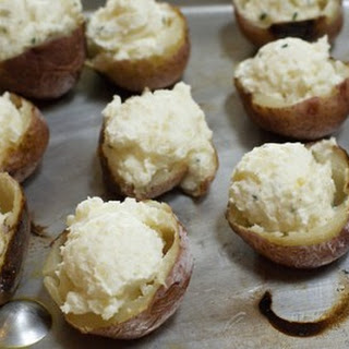 Fluffy New Potatoes