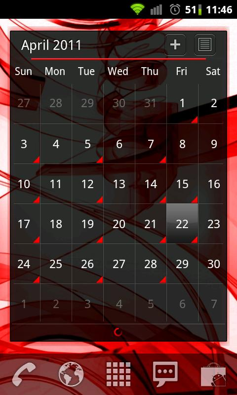 Red Remix LPP / APW Theme - screenshot