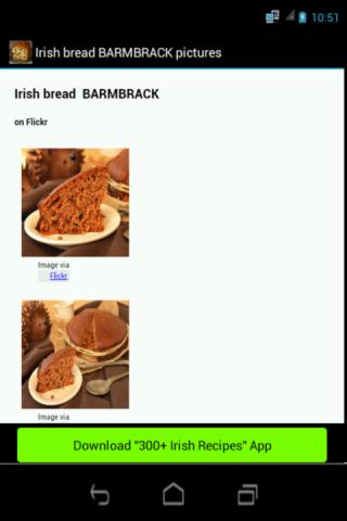 Irish bread BARMBRACK