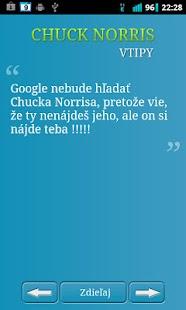 Chuck Norris - vtipy - screenshot thumbnail