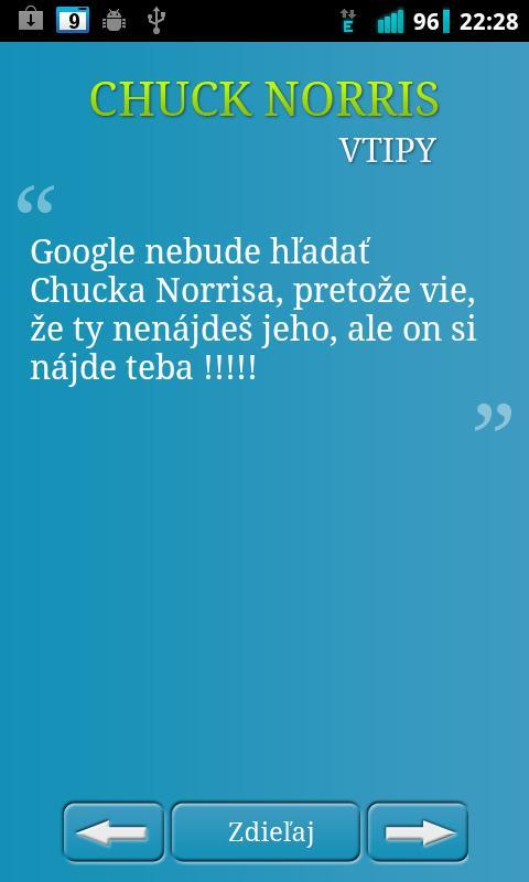 Chuck Norris - vtipy - screenshot