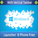 Launcher 8 Windows Theme Free icon