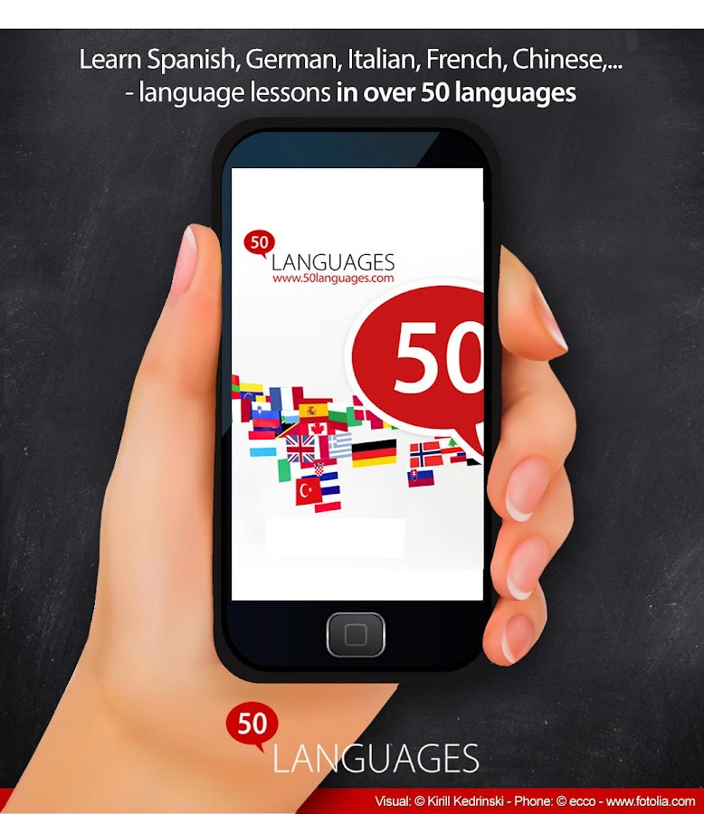 Learn 50 languages - screenshot