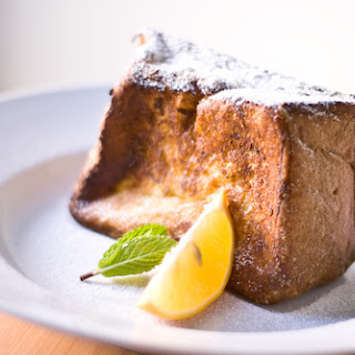 Pain perdu (real French toast).