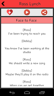 Ross Lynch Lyrics screenshot
