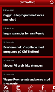 Oldtrafford News - screenshot thumbnail