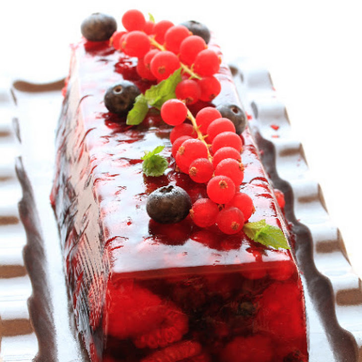 Red Fruit Terrine with Schweppes