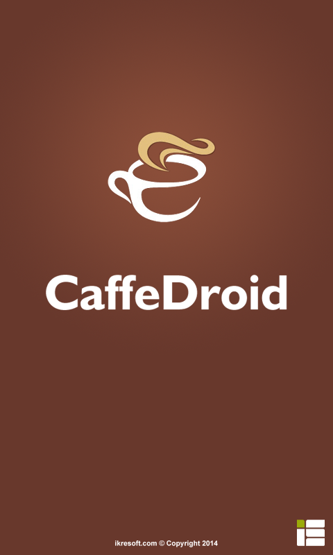 CaffeDroid- screenshot