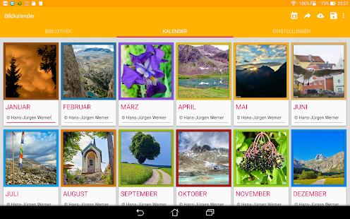 Picture Calendar 2015- screenshot thumbnail
