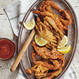Fried Soft-Shell Crab.