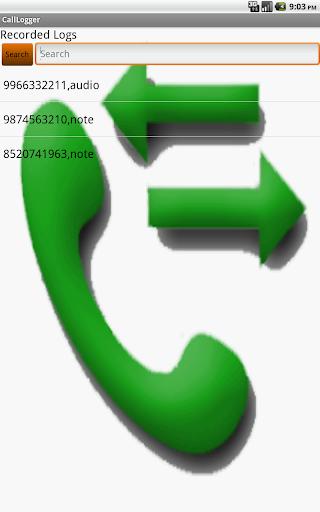 Call Logger - Info for calls