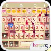 HangingLove Emoji Keyboard