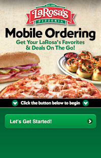 LaRosa's Pizzeria Ordering App - screenshot thumbnail