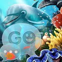 GO SMS Pro Theme water fish icon