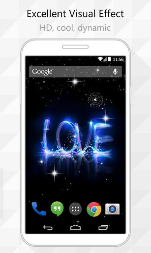 Firework Love Live Wallpaper