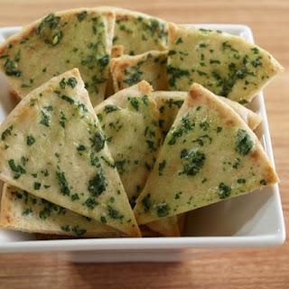 Baked Pita Crisps