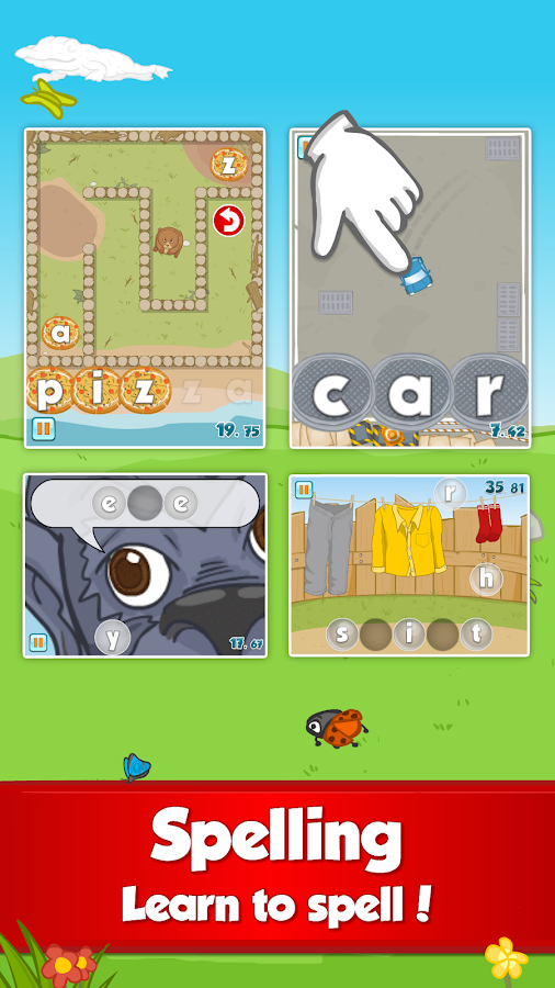 Fun English Learning Games- screenshot