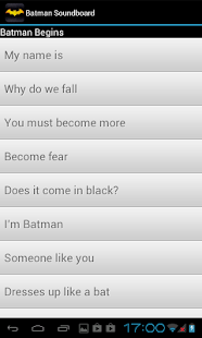 Batman Soundboard - screenshot thumbnail