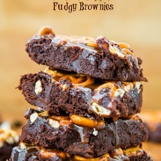 Chocolate Cherry Chocolate Chunk Fudgy Brownies