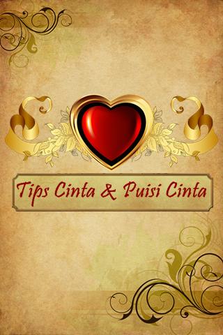 Tips Cinta Dan Puisi Cinta