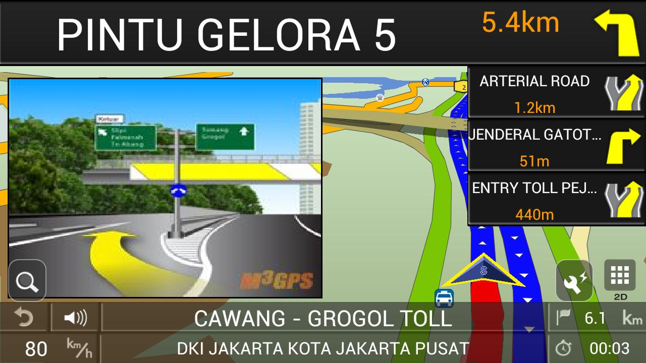 PAPAGO! GPS Navigation ID- screenshot