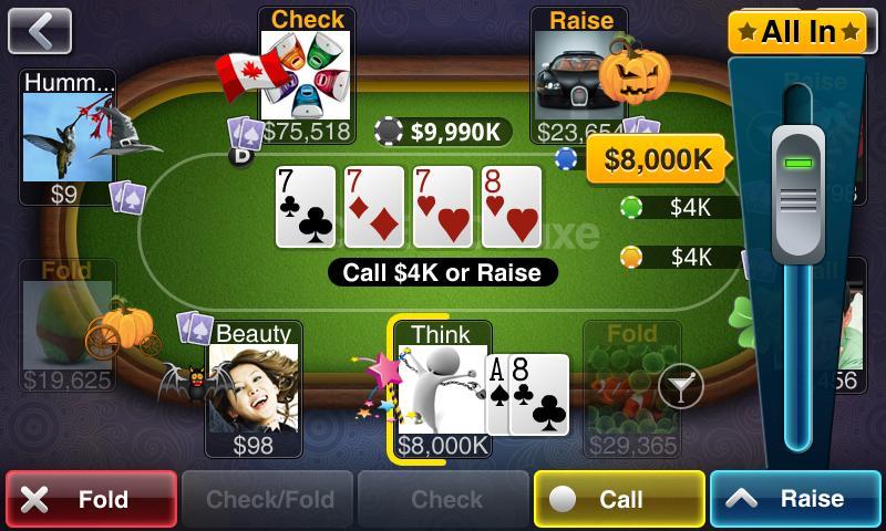 Texas HoldEm Poker Deluxe screenshot #2