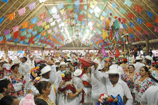 Feria-de-El-Cedral-Cozumel - On Cozumel, you may be lucky enough to join the fun of the Festival of El Cedral.