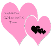SimplisticPink GoLauncherTheme
