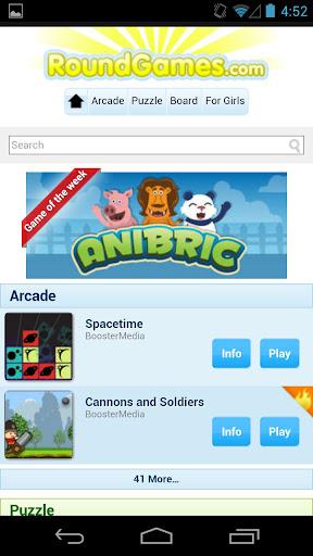 Round Games Launcher