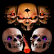 Moving Skulls Live Wallpaper