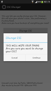 CSC Changer - screenshot thumbnail