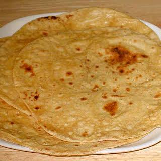 Roti, Chapati (Flat Indian Bread).