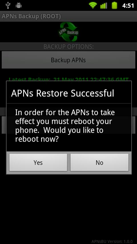 APNsBU - screenshot