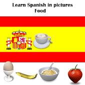 Spanish in Pictures Food Free