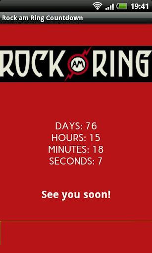 Rock am Ring 2014 Countdown