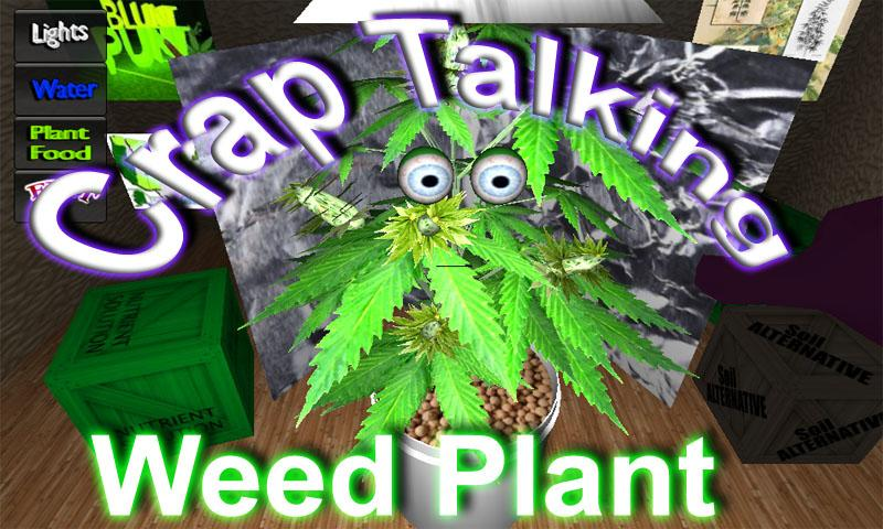 Grow Your Talking Weed Plant - screenshot