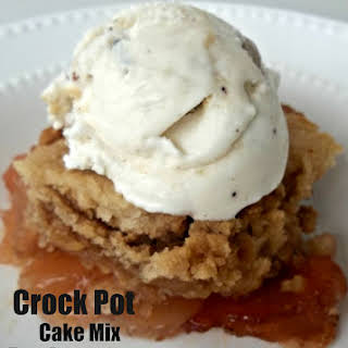 Slow Cooker Cake With Cake Mix Recipes.