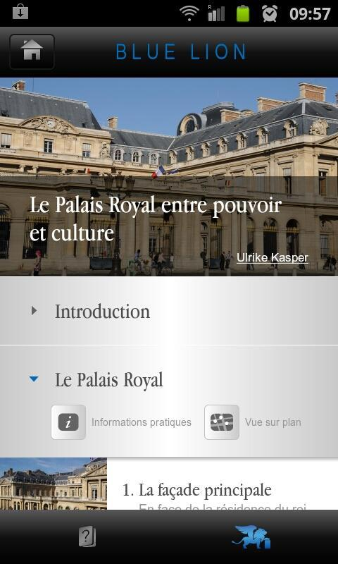 Le Palais-Royal à Paris- screenshot