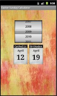 Easter Sunday Calculator- screenshot thumbnail