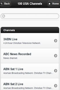 Watch TV Channels - screenshot thumbnail